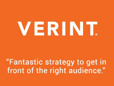 Verint Marketing Results